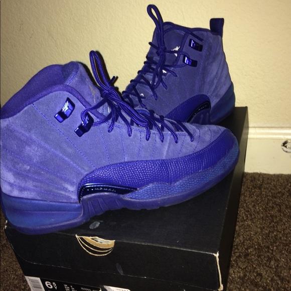 online store a4bd5 30a0b Royal Blue Jordan 12s Size 6.5 Gs